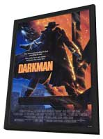 Darkman - 11 x 17 Movie Poster - Style A - in Deluxe Wood Frame