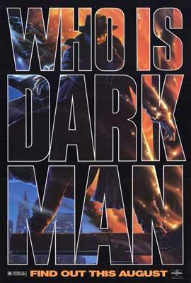 Darkman - 11 x 17 Movie Poster - Style D