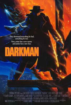 Darkman - 27 x 40 Movie Poster - Style A
