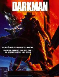 Darkman - 11 x 17 Movie Poster - German Style A