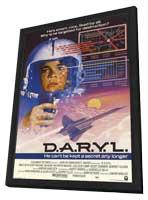 D.A.R.Y.L. - 11 x 17 Movie Poster - Style A - in Deluxe Wood Frame