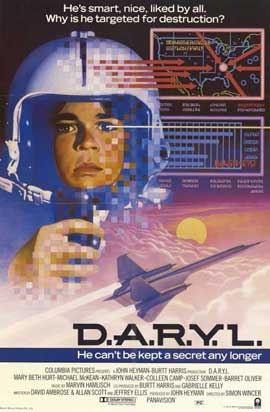 D.A.R.Y.L. - 11 x 17 Movie Poster - Style A