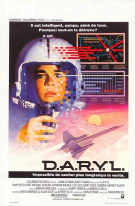 D.A.R.Y.L. - 11 x 17 Movie Poster - Belgian Style A