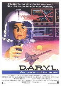 D.A.R.Y.L. - 27 x 40 Movie Poster - Spanish Style A