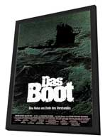 Das Boot - 11 x 17 Poster - Foreign - Style A - in Deluxe Wood Frame