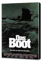 Das Boot - 11 x 17 Poster - Foreign - Style A - Museum Wrapped Canvas