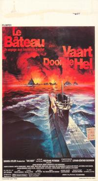 Das Boot - 11 x 17 Movie Poster - Belgian Style A