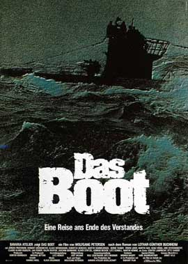 Das Boot - 11 x 17 Movie Poster - German Style E