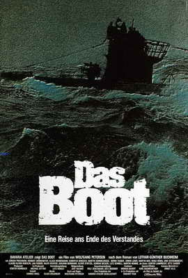 Das Boot - 27 x 40 Movie Poster - German Style E