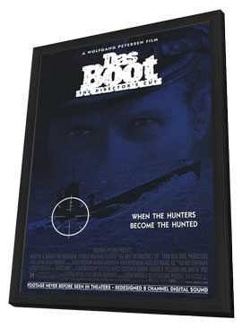Das Boot - 27 x 40 Movie Poster - Style A - in Deluxe Wood Frame