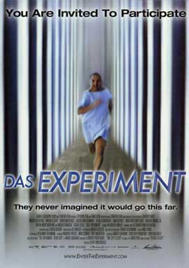 Das Experiment - 11 x 17 Movie Poster - Style A
