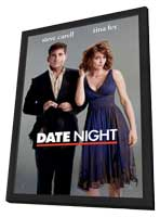 Date Night - 27 x 40 Movie Poster - Style A - in Deluxe Wood Frame