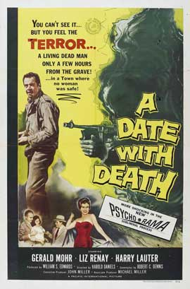 Date with Death - 11 x 17 Movie Poster - Style A