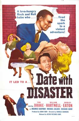 Date with Disaster - 27 x 40 Movie Poster - Style A