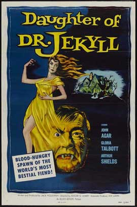 Daughter of Dr. Jekyll - 11 x 17 Movie Poster - Style A