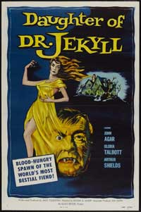 Daughter of Dr. Jekyll - 27 x 40 Movie Poster - Style A