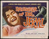 Daughter of Dr. Jekyll - 22 x 28 Movie Poster - Half Sheet Style A