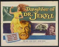 Daughter of Dr. Jekyll - 22 x 28 Movie Poster - Half Sheet Style B