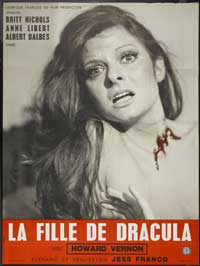 Daughter of Dracula - 11 x 17 Movie Poster - French Style A