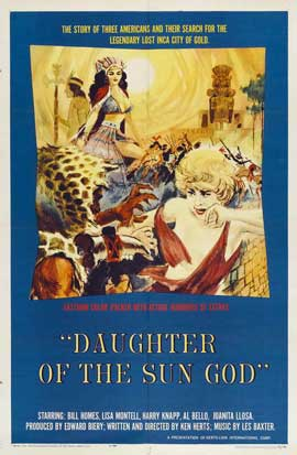 Daughter of the Sun God - 11 x 17 Movie Poster - Style A