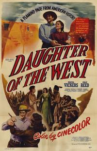 Daughter of the West - 11 x 17 Movie Poster - Style A
