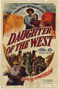 Daughter of the West - 27 x 40 Movie Poster - Style A