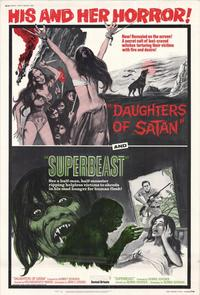 Daughter of Satan/Superbeast - 11 x 17 Movie Poster - Style A