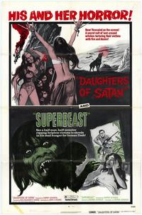 Daughter of Satan/Superbeast - 27 x 40 Movie Poster - Style A