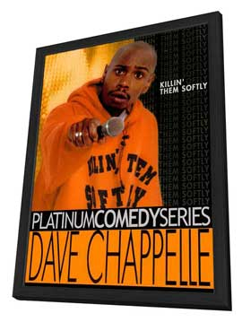 Dave Chappelle: Killin' Them Softly (TV) - 27 x 40 Movie Poster - Style A - in Deluxe Wood Frame