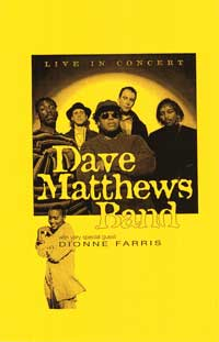 Dave Matthews Band - Music Poster - 11 x 17 - Style A