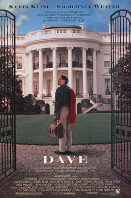 Dave - 11 x 17 Movie Poster - Style B