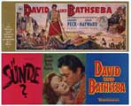 David and Bathsheba - 11 x 17 Movie Poster - German Style A