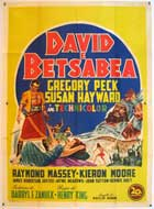 David and Bathsheba - 11 x 17 Movie Poster - Italian Style A