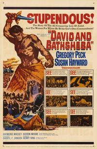 David and Bathsheba - 11 x 17 Movie Poster - Style B