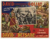 David and Bathsheba - 11 x 14 Poster - Foreign - Style A