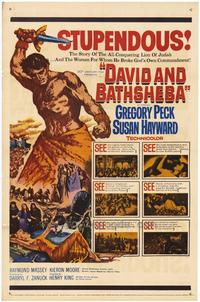 David and Bathsheba - 27 x 40 Movie Poster - Style A