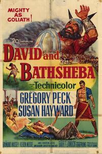 David and Bathsheba - 27 x 40 Movie Poster - Style B