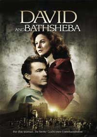 David and Bathsheba - 27 x 40 Movie Poster - Style C