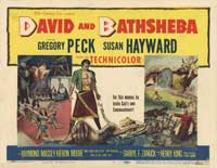 David and Bathsheba - 11 x 14 Movie Poster - Style A