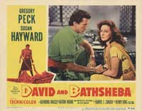 David and Bathsheba - 11 x 14 Movie Poster - Style B