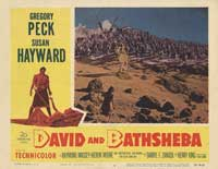 David and Bathsheba - 11 x 14 Movie Poster - Style C
