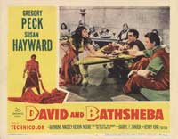 David and Bathsheba - 11 x 14 Movie Poster - Style D