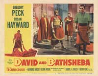 David and Bathsheba - 11 x 14 Movie Poster - Style E