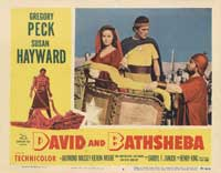 David and Bathsheba - 11 x 14 Movie Poster - Style F