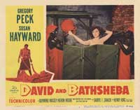 David and Bathsheba - 11 x 14 Movie Poster - Style G