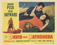David and Bathsheba - 11 x 14 Movie Poster - Style H