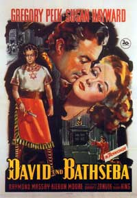 David and Bathsheba - 11 x 17 Movie Poster - Style D