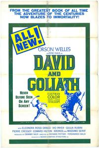 David and Goliath - 11 x 17 Movie Poster - Style B