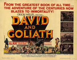 David and Goliath - 11 x 14 Movie Poster - Style A