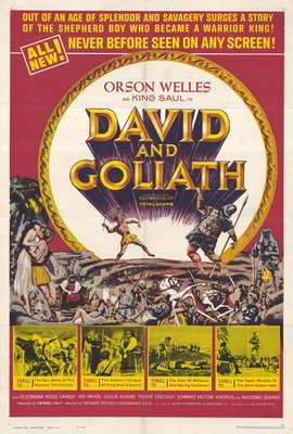 David and Goliath - 27 x 40 Movie Poster - Style A